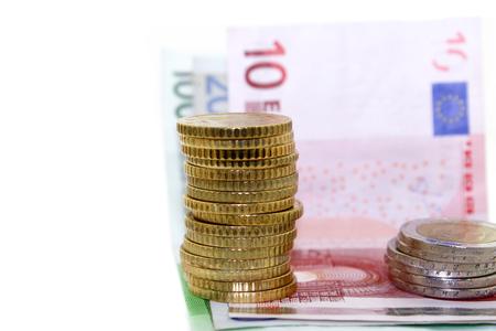 euro banknotes: Euro banknotes and coins
