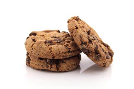 Cookies auf weißem Hintergrund Standard-Bild - 42926101