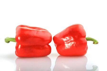 pimenton: De piment�n rojo Foto de archivo