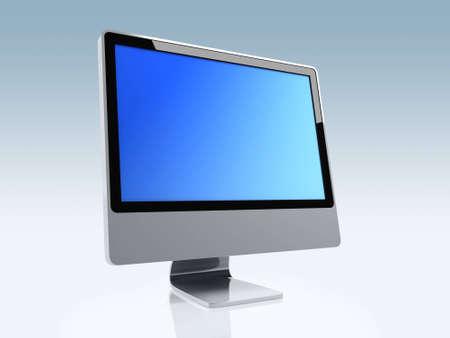 Large image of a stylised monitor Stock Photo - 1696496