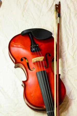 Close up shot of a violin,very soft def of field. blur photo Banque d'images