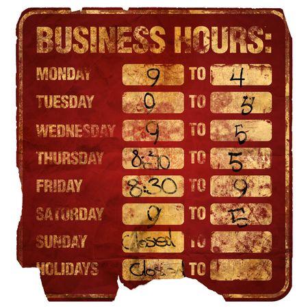 営業時間符号劣化 (回)