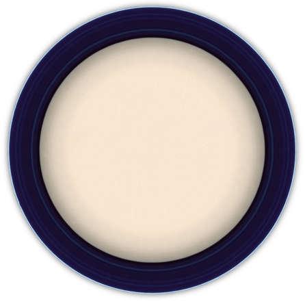 Dinner plate, taken from above