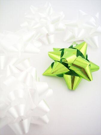 Gift bows. Stockfoto