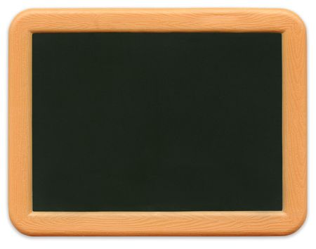 Child's mini plastic chalkboard with path included. Standard-Bild