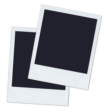 2 polaroids. photo