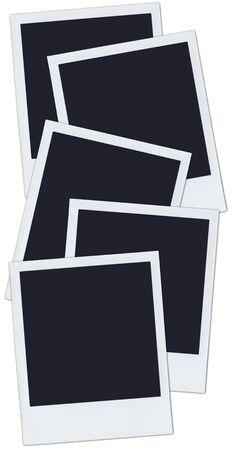 5 polaroids.