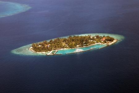 Atoll in the Maldives photo