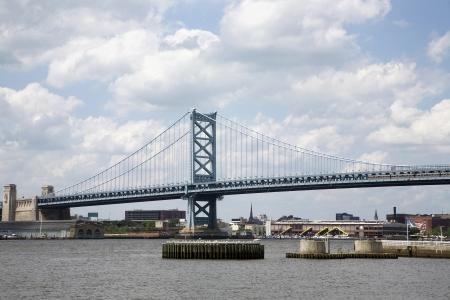 franklin: The Benjamin Franklin Bridge in Philadelphia Editorial