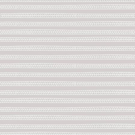 endless seamless pattern with repeating white stylized pigtails on gray background Stock Vector - 18705320