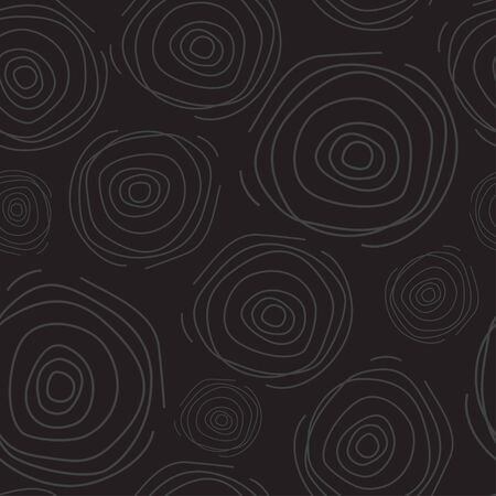 ripple: Abstract seamless pattern with line circles, like ripple