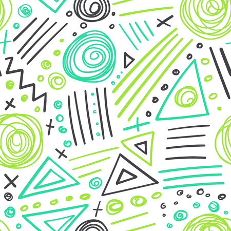 be: Vector abstract marker colorful lines seamless pattern. Can be used as a background, pattern, wrapping paper, backdrop, wallpaper or as bag template, print for packet etc.