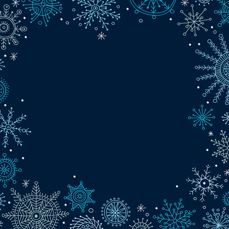 Vector christmas banner in ethnic boho style with ornaments. Can be printed and used as Christmas and New Year greeting card, placard, invitation, poster,frame, border, banner, etc. Иллюстрация