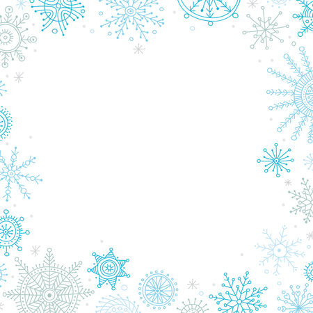 Vector christmas banner in ethnic boho style with ornaments. Can be printed and used as Christmas and New Year greeting card, placard, invitation, poster,frame, border, banner, etc. Illustration