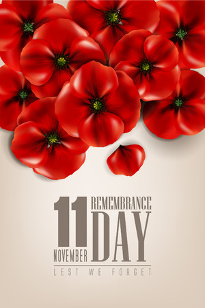 remembrance day - 11 November - lest we forget - veterans day