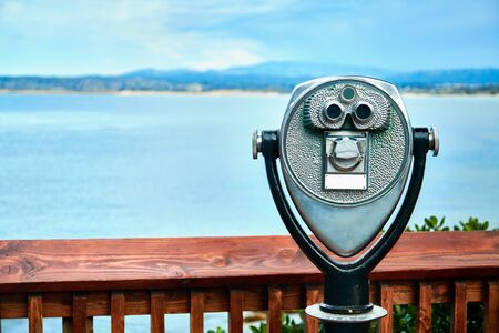 Tower viewer with shore view on the background Stock fotó