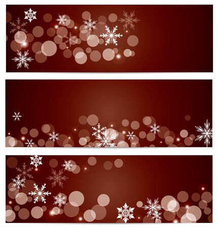 snow falling: Neve che cade banner background