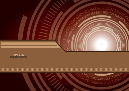 echnology: Abstract technology template for background.