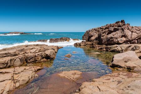 Birubi Beach Rock Pool Фото со стока - 100361728