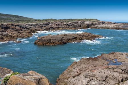 Birubi Beach Lookout, Port Stephens Фото со стока