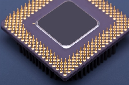 processor chip Stock Photo - 13402736