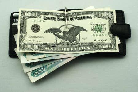 million dollars: banknote one million dollars