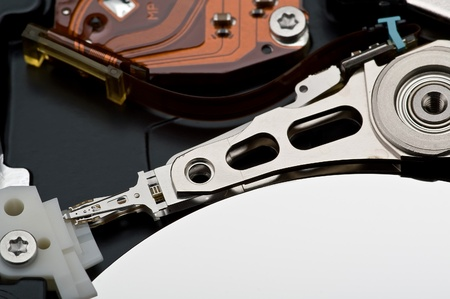 hard disk drive closeup Stock Photo - 13408785