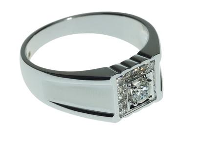fine gold: Mans gold ring