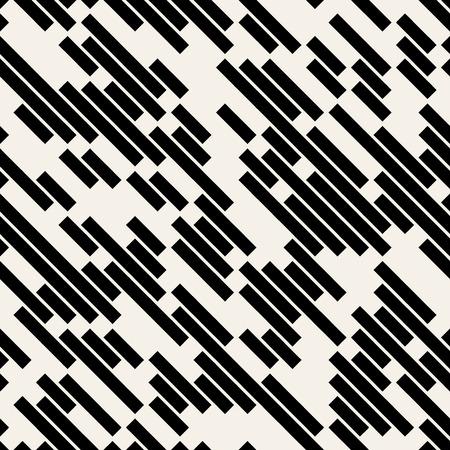 muster: Vector Black and White Diagonale zeichnet geometrische nahtlose Muster Hintergrund,