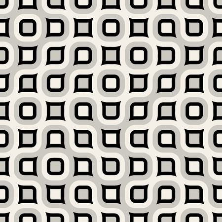 rounded: Seamless  Rounded Rectangle Grid Pattern Illustration