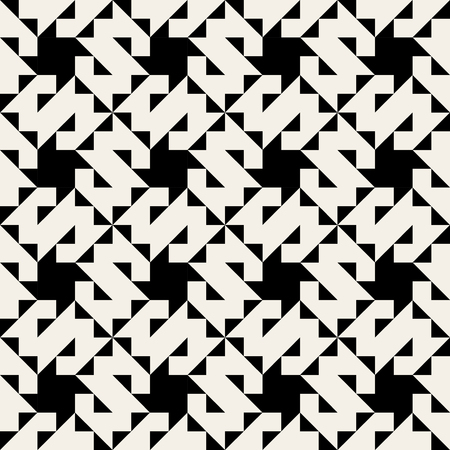 perpendicular: Vector Seamless Black And White Geometric Jagged Edge Triangle  Square Pattern Background Illustration