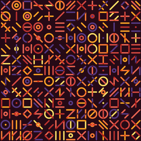 grid pattern: Seamless Multicolor Geometric Line Random Shapes Grid Pattern Abstract Background