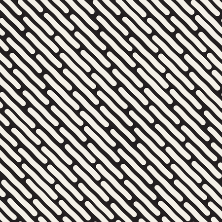jumble: Seamless Black And White Jumble Hand Drawn Diagonal Lines Pattern Abstract Background