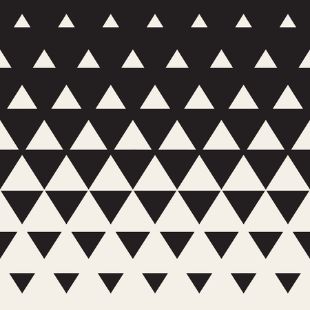 Naadloos wit tot zwart Color Transition Driehoek Halftone Gradient Pattern. Abstracte Geometrische Achtergrond Design Stockfoto - 57884590