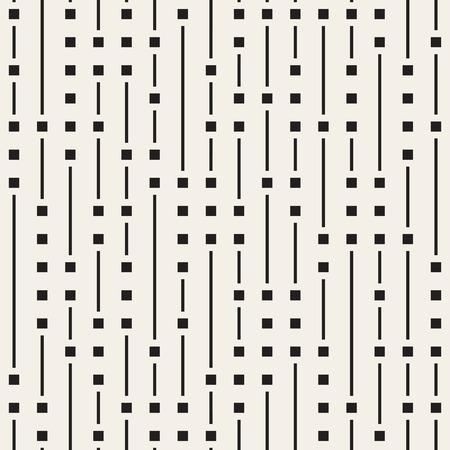 Wektor wzór bezszwowe czarno-białe nieregularne pionowe linie. Abstrakcyjny geometryczny wzór tła Ilustracje wektorowe