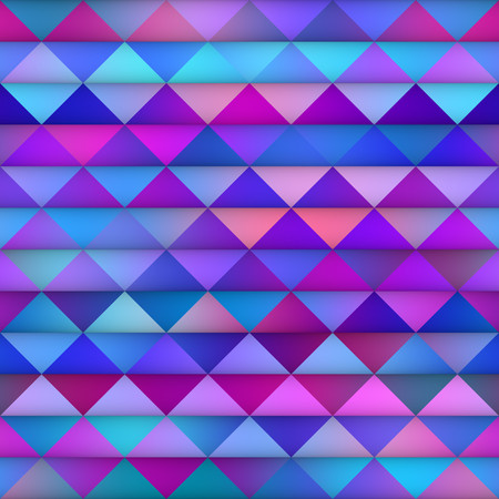 Gradient Tiling Grid. Abstract Geometric Background Design. Seamless Multicolor Pattern