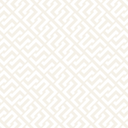 intertwine: Interlacing Lines Subtle Lattice. Ethnic Monochrome Texture. Vector Seamless