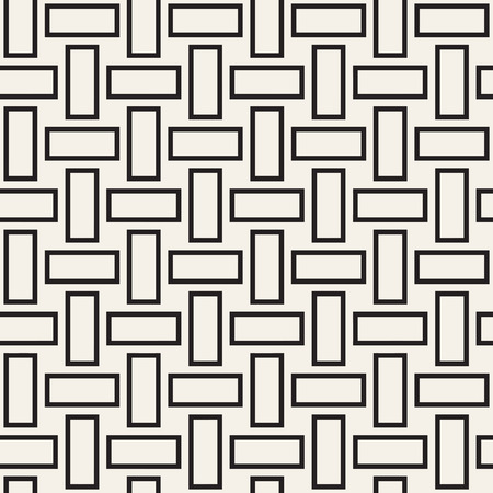 twill: Trendy monochrome twill weave. Abstract Geometric Background Design.
