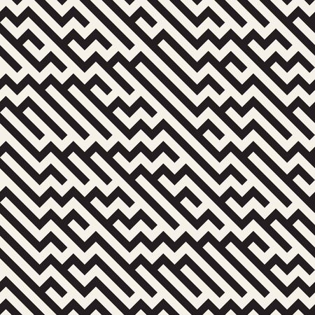 tiling: Irregular Maze Shapes Tiling Contemporary Graphic Abstract Geometric Background Design.