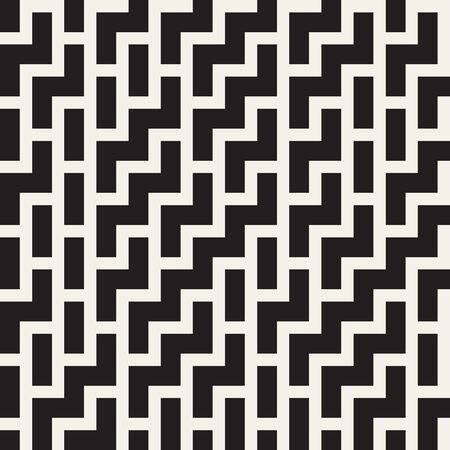 tiling: Irregular Maze Shapes Tiling Contemporary Graphic.