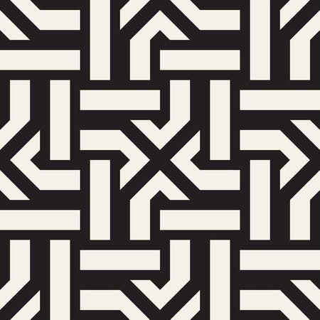 tiling: Repeating geometric stripes tiling.