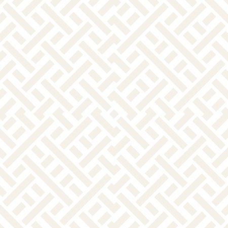 Interlacing Lines Subtle Lattice. Ethnic Monochrome Texture. Abstract Geometric Background Design. Seamless Black and White Pattern.