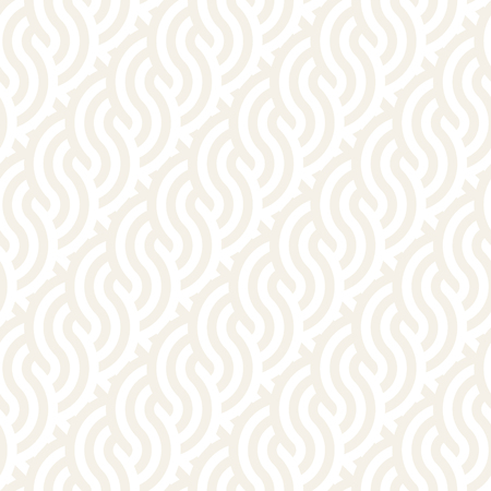 interlace: Seamless monochrome geometric pattern. Abstract stripy geometric background. Stylish vector lines print