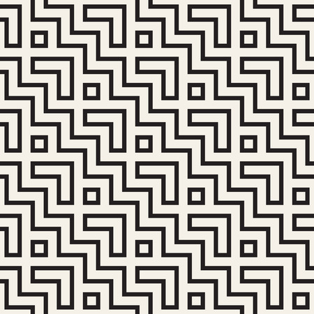 regular: Maze Tangled Lines Contemporary Graphic. Abstract Geometric Background Design.