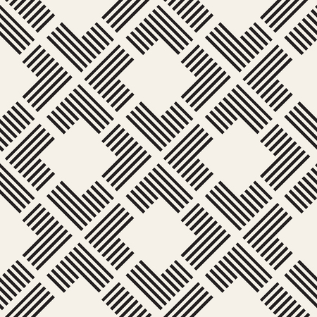 trellis: Seamless pattern with stripes. Vector abstract background. Stylish geometric lattice structure. Illustration
