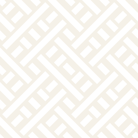 intertwine: Interlacing Lines Subtle Lattice. Ethnic Monochrome Texture. Abstract Geometric Background Design. Vector Seamless Black and White Pattern.