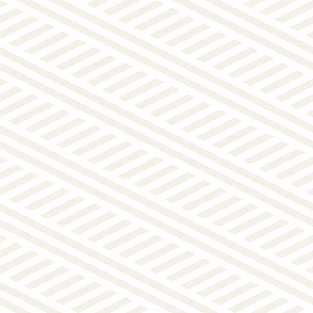 surface: Interlacing Parallel Stripes. Vector Seamless Subtle Monochrome Pattern. Illustration