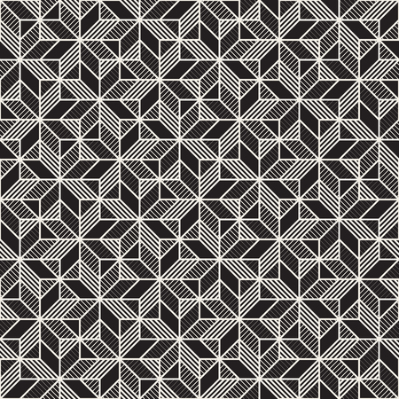 grid background: Vector seamless cross tiling pattern. Modern stylish geometric texture. Repeating mosaic abstract background