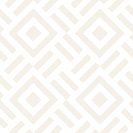 Stylish Lines Maze Lattice. Ethnic Monochrome Texture. Abstract Geometric Background Design. Vector Seamless Subtle Pattern.