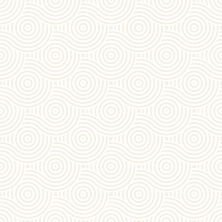 rounded circular: Vector seamless geometric pattern composed with circles and lines. Modern stylish rounded stripes texture. Repeating abstract decorative background